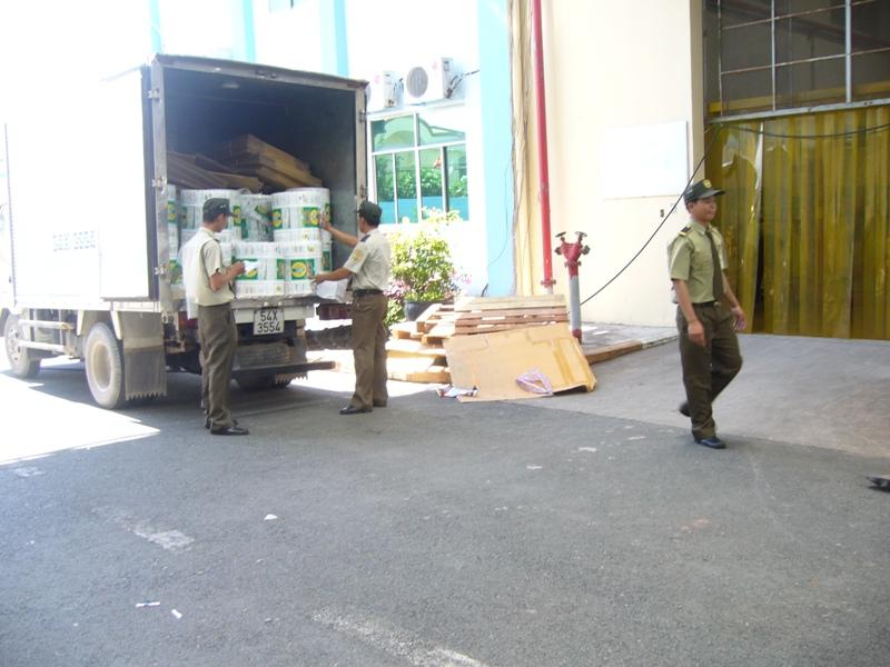 bảo vệ chuyển hàng