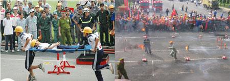 phương án bảo vệ cháy nổ